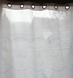 Rideaux L291 ''Vive le Vent''