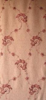 robe tissu chanel brodé prune ombré L156581614 coloris 352