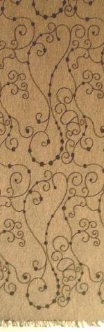 robe tissu coton gris blanc brodé noir mat Lierre coloris 346